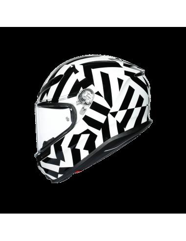CASCO K6 SECRET BLACK/WHITE