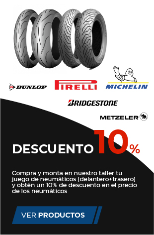 descuento 10% neumáticos